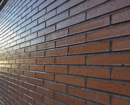 Limpieza y el mantenimiento de las fachadas de ladrillo